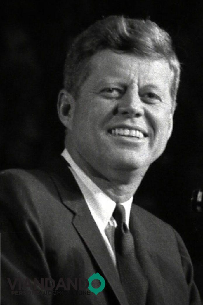John Fitgerald Kennedy e la bicicletta